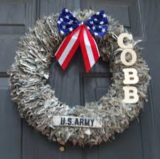 decorative wreaths for the home decorative wreaths door decoration home decor military wreath