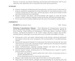 Good Objective Statements For Resumes Berathen Com - marketing resume objective statement professional exles