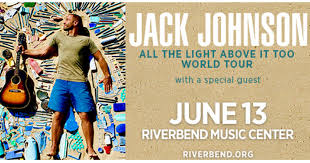 jack johnson all the light above it too jack johnson at riverbend