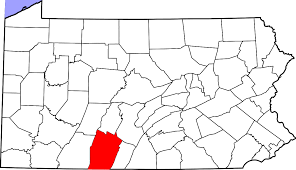 Pennsylvania County Maps by National Register Of Historic Places Listings In Bedford County