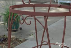 Vintage Bistro Table And Chairs Refurbished Bistro Chairs Ambient Wares