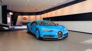 bugatti jet world u0027s largest buggati showroom opens in dubai pursuitist