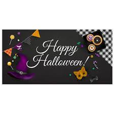 Halloween Party Banners by Pumpkin Halloween Party Banner Backdrop Decoration Paper Blast