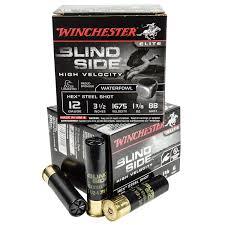 si e auto enfant winchester blind side 12 ga 3 1 2 1 1 8 oz bb 25 box natchez