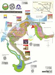 Islamabad Map Defence Phase I Sector F
