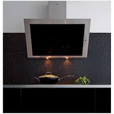 hotte cuisine verticale idee deco hotte aspirante noir 90 cm hotte aspirante noir 90 or