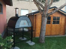 portable pizza oven for mobile food truck or commercial use