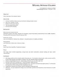 Resume Objective For Barista Free Resume Templates It Examples Barista Objective Regarding 85