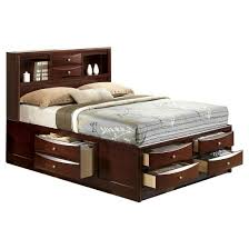 Trundle Bed With Bookcase Headboard Captain Bed Storage Bed Target