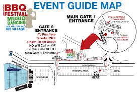 Lax Gate Map Directions Parking Long Beach Bbq Festival