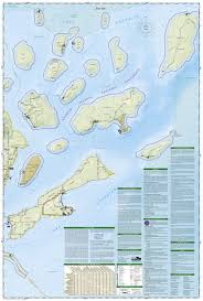 United States Map With Mileage Scale by Apostle Islands National Lakeshore National Geographic Trails