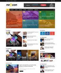design magazine site 100 free responsive blogger templates 2018 freshdesignweb