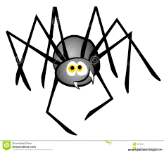 cute halloween spiders clipart 62