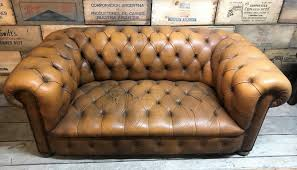 Distressed Chesterfield Sofa Reclaimed Vintage Distressed Chesterfield Sofa