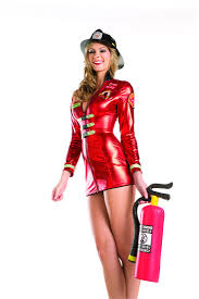 firefighter costume 1 pc tempting flames costume