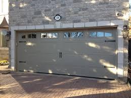 Wilmington Overhead Door by 9x8 Haas 660 Carriage Doors In White With 6 Pane Windows