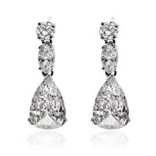dimond drop diamond earrings drop earrings pear shape diamond drop earrings