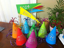 Happy New Year Decorations by Rockabye Butterfly Happy New Year