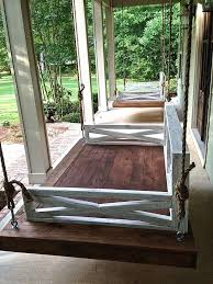 Patio Daybeds For Sale Best 25 Outdoor Swing Beds Ideas On Pinterest Decks Gazebo