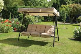 outdoor u0026 garden fine patio bench swing with armrest and stripe