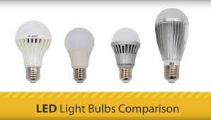 Led Versus Fluorescent Light Bulbs by Led Light Bulbs Comparison Youtube
