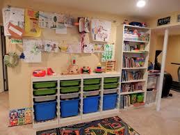 jeux de rangement de la chambre rangement salle de jeux enfant 50 idées astucieuses salles de