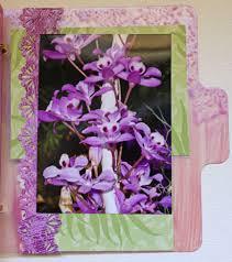 Fancy Photo Albums Tropical Hawaiian Flowers Clear Mini Album Fancy Pants Clear Cuts