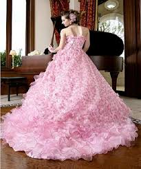 pink wedding dress pink wedding dresses 2012 for reception memorable