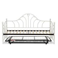 Trundle Beds With Pop Up Frames Complete Metal Daybed With Top Deck And