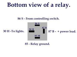 100 4 pin relay wiring diagram horn relays diagrams