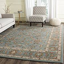 Brown And Blue Area Rug by Amazon Com Safavieh Heritage Collection Hg812b Handmade