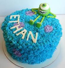monsters inc birthday cake monsters inc birthday cake sully buttercream fur and fondant mike