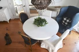 when a round dining table is a great choice
