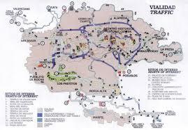 La Traffic Map Guanajuato Travel Guide Maps