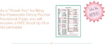 printable shot recipes free grocery stock up price list printable free groceries price