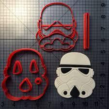 star wars logo cookie cutter set