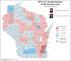 Us Election Map by Wisconsin Election Maps And Results University Of Wisconsin Eau