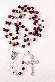 birthstone rosary january birthstone rosary catholic rosaries