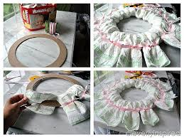 baby shower wreath diy wreath diy baby shower decoration