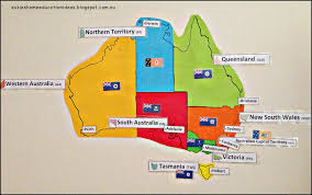 territories of australia map s home education ideas australia unit learning the states