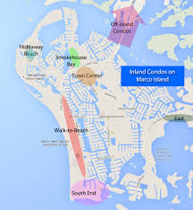Marcos Island Florida Map Marco Island Inland Condos Condominiums Not On The Water