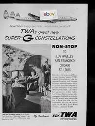Lockheed Constellation Interior Twa Trans World Lockheed Super G Constellation Henry Dreyfuss