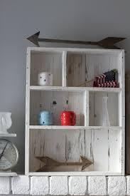 Entryway Shelf Pallet Shelf Cubby Shelf Pallet Wood Shelf Painted Shelf