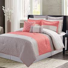 bed linen extraordinary coral colored quilt coral bedding set