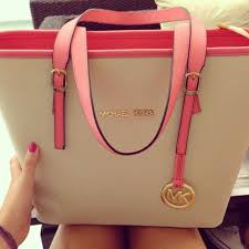 light pink michael kors handbag m k bags great looking and very stylish as well as being well made
