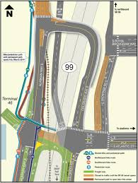 Seattle Times Traffic Flow Map by Opening Of Atlantic St Overpass Means More Sodo Waterfront Bike