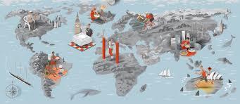Health Map Nils Petter Ekwall Illustration Men U0027s Health Map