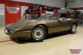 87 corvette for sale 1987 chevrolet corvette convertible stock m5258 for sale near
