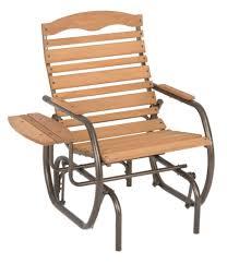 Antique Metal Porch Glider Furniture Wooden Single Porch Glider For Outdoor Bench Ideas