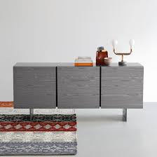 furniture modern sideboard in matt white also buffet storage